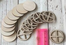 ♥♥set of 10 laser cut wooden mini small fairy faerie elf hobbit door windows ♥♥