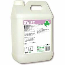Clover Chemicals Swift Clean & Shine Ready To Use Furniture Polish 5L