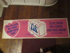 Lili    -1964    Movie Banner Poster - Leslie Caron