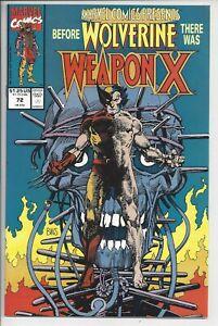 Marvel Comics Presents 72 (9.6) NM - Part I of Weapon X Origin - Barry Smith Art