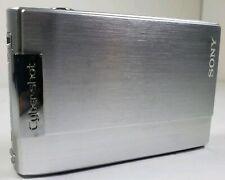 Sony Cyber-shot DSC-T100 8.1MP Digital Camera - Silver