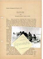 """WW2 Kriegsbericht """" Die weiße Frau"""" von Kriegsberichter Helmut Schulz"""