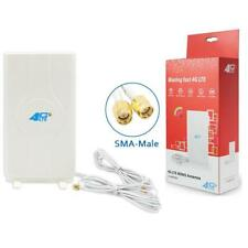 SMA 49dbi HIGH GAIN 3G 4G LTE MIMO EXTERNAL DIRECTIONAL ANTENNA 2METRE CABLE