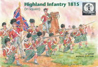 Waterloo 1815 1/72 AP039 Highland Infantry 1815 in Square (Napoleonic) (No Box)