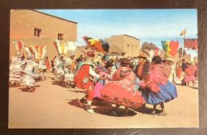 Typical Dances Of The Bolivian Plateau. Tarjeta De Postal. Vintage Postcard