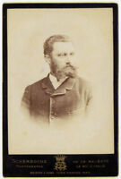 Cabinet Rome portrait of a confident man Photo Schemboche 1880c S711