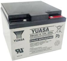 Yuasa Batterie de Golf et Mobilité - REC26-12