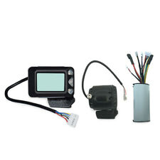 Controller Brake Lcd Display 24V 250W Carbon Fiber Electric Scooter Control W6Z1