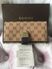 NEW GUCCI GG Crystal Monogram Wallet