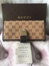 NEW GUCCI GG Crystal Monogram Wallet