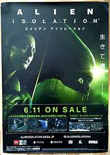 Alien Isolation RARE PS4 XBOX ONE 51.5 cm x 73 Japanese Promo Poster
