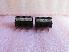 (2) Fuji Electric Terminal Block Lot - BZ0BRFA - For Use With BM3 Manual Starter
