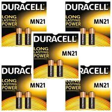 10 PILE BATTERIE MICRO STILO 12V ALKALINE DURACELL MN21 A23 K23A LRV08