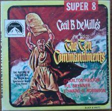 Film Super 8: The Ten Commandments Cecil B. DeMille's Charlont Heston