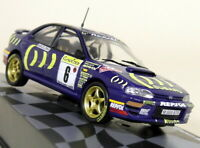 Altaya 1/43 Scale Subaru Impreza 555 Rally Monte Carlo 1995 Diecast Model Car