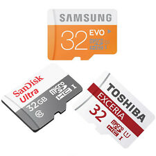 32GB CLASS 10 MICRO-SD MEMORY CARD FOR SAMSUNG GALAXY TAB 4 TABLET PC 7.0 8.0 10