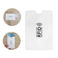 Protección Aluminio El bloqueo Anti - ladrón El titular de la tarjeta de RFID