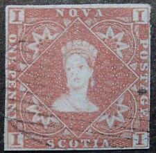 Nova Scotia Scott #  1, Used