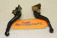 04-06 YAMAHA FZ6 FZ 6 AFTERMARKET LEFT RIGHT SIDE CLUTCH BRAKE STOP LEVERS LEVER