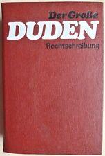 Der Große Duden Rechtschreibung  (Gebundene Ausgabe, 1988)