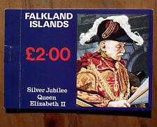 Silver Jubilee Queen Elizabeth II Falkland Islands Stamps Booklet 1977