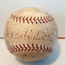 BABE RUTH Lou Gehrig & 1929 NY Yankees SIGNED BASEBALL! *PSA/DNA Authenticated*