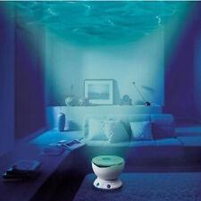 Hot saleLED Romantic Ocean Waves Projector Night Light Speaker Lamp High Quatity