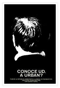 "Decor Graphic Design movie Poster 4 film""URBAN? East Germany Dark Art.Cerebral."