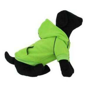 Size LARGE Doggie Design Sports Dog Hoodie Pink, Green & Blue choices Sweater