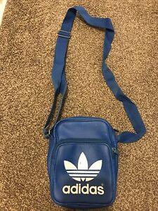 Blue Adidas Man's Small Bag