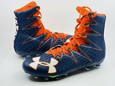 Under Armour Men's Highlight MC Football Cleat Orange Blue 1269693 Size 11.5