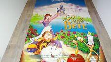 LA BELLE ET LA BETE  THE BEAUTY AND THE BEAST affiche cinema animation =disney