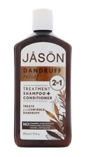 2IN1 JASON-NATURAL-BEST-DANDRUFF-RELIEF-TREATMENT-SHAMPOO CONDITIONER-355ML