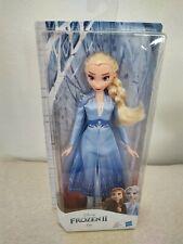 "Hasbro Disney Frozen II Elsa Doll NEW 11"" Free Shipping Blue Dress"