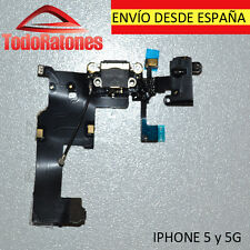 Flex Dock Conector para iPhone 5 5G G Datos Carga Microfono Auricular Jack power