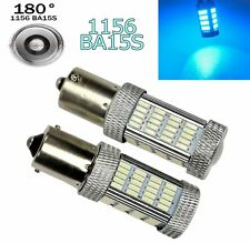 Ice Blue Rear Turn Signal Light 1156 BA15S P21W 7506 1141 92 LED Bulb A1 GM LA