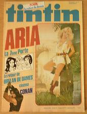 BD Comics Magazine Hebdo Journal Tintin No 14 37e 1982 Aria la 7ème Porte