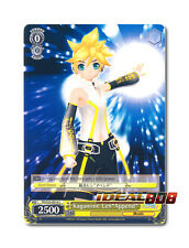"Weiss Schwarz Project DIVA x 4 Kagamine Len""Append"" [PD/S22-E016 C] English"