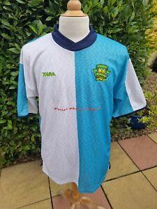 Norwich City Centenary Away Football Shirt 2002 Large Xara  Missing Sponsor