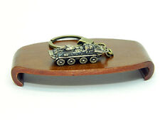 World of Tank Soviet BTR-80 Bronze keychain handmade rare