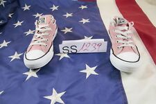 Chaussures CONVERSE All Star Basses Rose Code SS1239usato N.36,5 EU