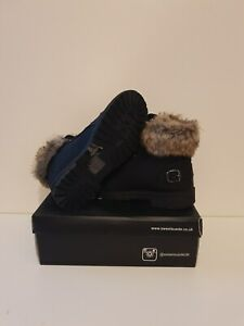 SweetSuede Brand New Ladies Fur Boots