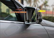 Chrome side door Mirror rims frame trim BENZ  W204 W212 W246 X204 W176 A C E GLK