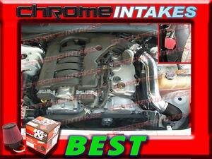 K&N+BLACK RED 05-10 DODGE MAGNUM/CHARGER/CHALLENGER/CHR 300 3.5L COLD AIR INTAKE