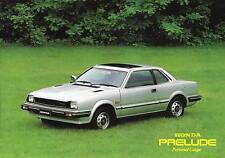 1982 HONDA Prelude - 6 Page Car Brochure - NCS