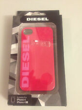 Diesel pink iPhone4 iPhone4S skin hard shell Case Snap Cover BNIB 4s NEW IN BOX