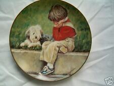 """ David's Dilemma "" Collector plate"