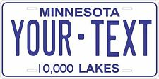 Minnesota 1978 License Plate Tag Personalized Auto Car Custom VEHICLE OR MOPED