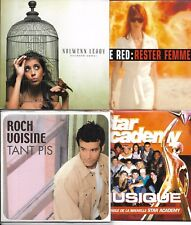 LOT8 SINGLES VF VOISINE/STAR ACADEMY/NOLWENN LEROY/RED/FABIAN/WINTER/DION/AUBERT