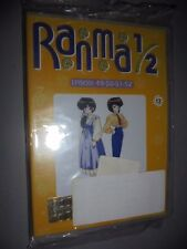 DVD N° 13 RANMA 1/2 EPISODI 49 50 51 52